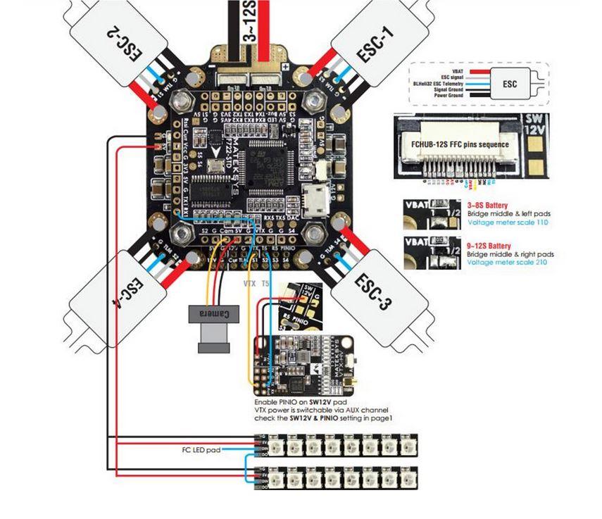 MATEK - PDB FCHUB-12S