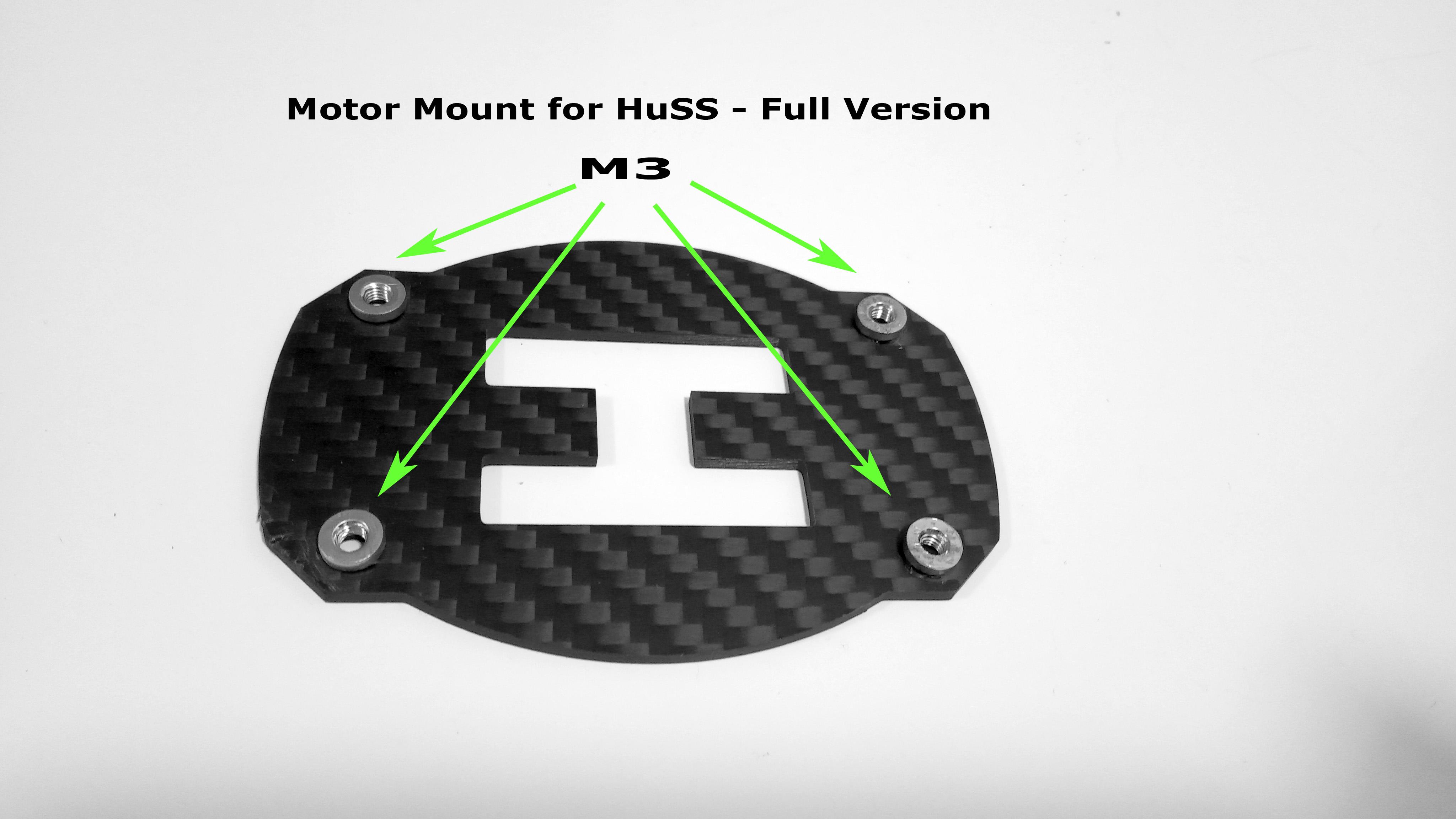 FPVmania HUSS - Motor Mount 41xx - 52xx - Komplet