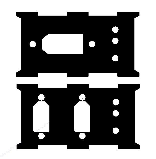 FPVmania HuSS - Rear Plate