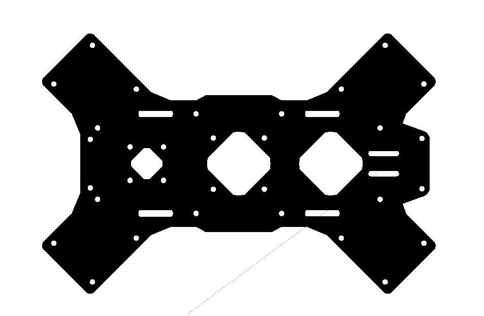 FPVmania novTroc - spodní plato