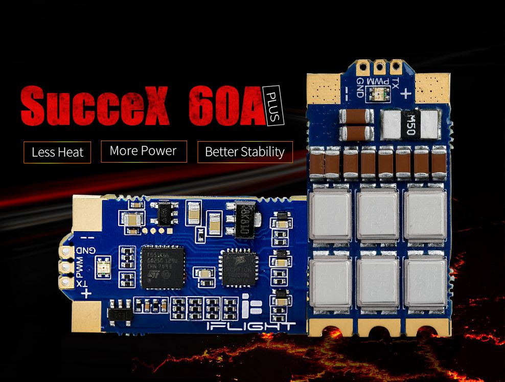 iFlight SucceX 60A Plus 2-6S ESC DShot_1200