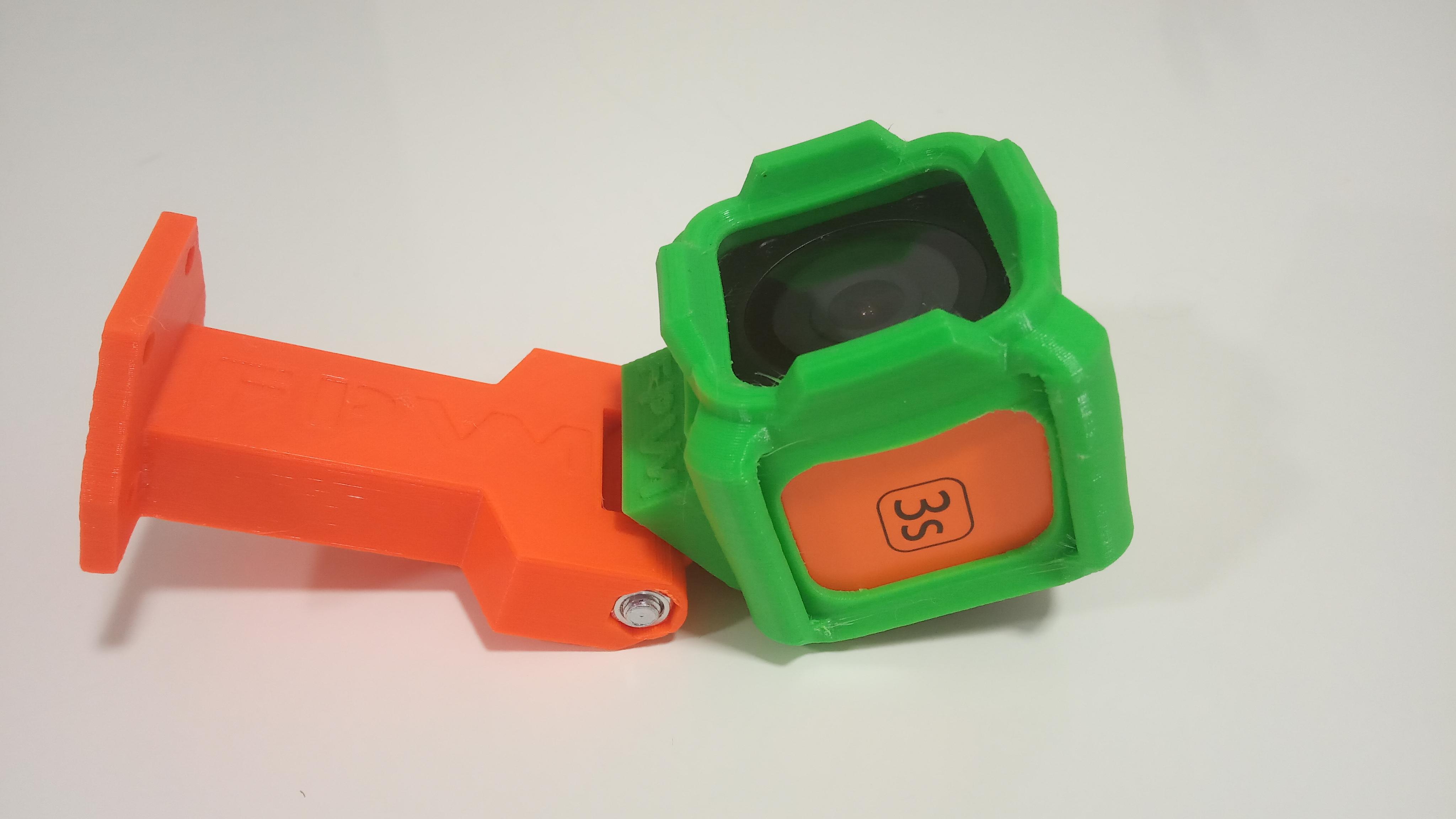 novTroc - držák pro zadní kameru V2